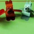 Мастер класс по изготовлению игрушек из бросового материала.