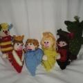 Вязанный «Кукольный театр»