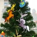 Деревянные елочные игрушки: украшаем, расписываем! Мастер-класс