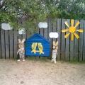 Оформление участков детского сада в летнее время