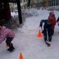 Нетрадиционные игры с элементами хоккея для детей с нарушением зрения