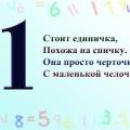 Электронное пособие-игра «Изучаем число и цифру 1»