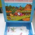 «Репка» настольная познавательная игра. (предназначена для детей от 3 до 7 лет)