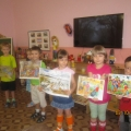 Конспект НОД для детей подготовительной группы «Осенний калейдоскоп»