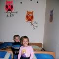 Совушки в нашей спальне