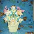 Новая кусудама «Цветущий кактус»