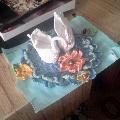 Вязание крючком поделки «Лебединая верность»