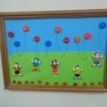 «Ты смотри, смотри, смотри улетели все шары!» Коллективная работа из соленого теста в День защиты детей