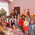 Тематическая образовательная деятельность в подготовительной группе «Русские народные традиции. Святки-колядки»