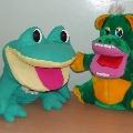 Помощники логопеда Квакуша и Гоша.
