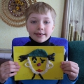 «Веселый клоун». Рисование пластилином