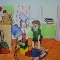 Конспект НОД по ОБЖ «Спички— причина пожара!» в младшей группе