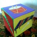 Дидактическая игра «Весёлый кубик» для музыкального развития детей