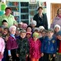 Дружба детского сада с сельской библиотекой. Фоторассказ