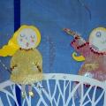«Зимняя сказка»— веселые картины из бумаги