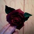 Роза— канзаши