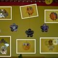 Украшение веранды в детском саду. Творческая работа с дисками