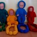 Дидактическая игра по сенсорному воспитанию «Подбери кукле бусы»