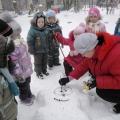 Снег в этом году в астане