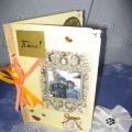 Поздравительные открытки в технике «Скрапбукинг». «Кого люблю— тому дарю!»