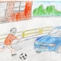 Работа по изучению правил дорожного движения в подготовительной группе детского сада