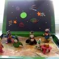 Загадочный космос в детских поделках