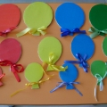 Дидактическая игра «Воздушные шарики»