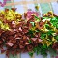 Модульное оригами: символ года— Змея
