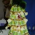 Выставка ёлок из подручного материала изготовленна мной, детьми и родителями