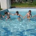Открытое занятие по плаванию в старшей группе (5–6 лет) в летний период
