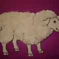 Шубка для овечки. (из ваты)