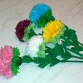 «Цветы, цветочки». Мастер-класс по изготовлению цветов из бумажных салфеток в технике торцевания