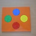 Интеллектуальная игра для детей «Дроби»