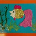 Конспект по пластилинографии в подготовительной группе на тему «Золотая рыбка»