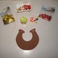 Мастер-класс по изготовлению новогодней игрушки «Подкова»