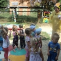 Летний праздник на свежем воздухе «Солнце, воздух и вода— наши лучшие друзья!» во второй младшей группе