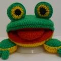 Мастер— Класс Вязаная крючком игрушка— «Лого лягушка»