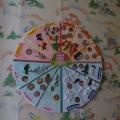 Пособие для закрепления у детей старшего дошкольного возраста представления о сезонах и месяцах года «Дни рождения»