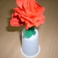 Розы в подарок маме!
