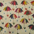 Совместная деятельность по художественному творчеству в средней группе. Пластилинография «Зонтик в дождь пошел гулять…»
