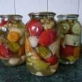 Ассорти из овощей. Рецепт