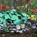 Лепим цветы из пластилина