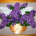 Мастер класс. Подарок для мамы к 8 марта. «Сирень» из семян туи.