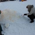 Конкурс построек из снега