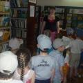 Экскурсия в Кропоткинскую городскую детскую библиотеку им. К. И. Чуковского