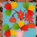 Аппликация «Осеннее настроение»