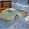 Снежные постройки