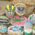 Творчество детей. «Волшебные камни»