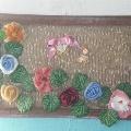 Цветочки в рамочке