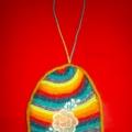 Сувенир из ниток «Пасхальное яйцо»
